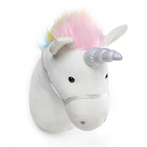 ガンド ぬいぐるみ リアル お世話 かわいい 【送料無料】GUND Unicorn Plush Head Stuffed Animal Hanging Wall D?cor, White, 15