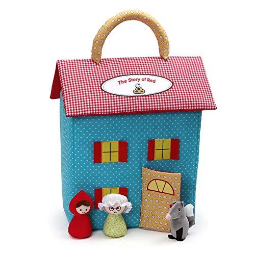 ガンド ぬいぐるみ リアル お世話 かわいい 【送料無料】Baby GUND The Story of Red Stuffed Plush Dollhouse Playset, 23