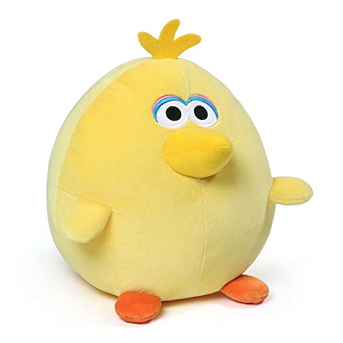 ガンド ぬいぐるみ リアル お世話 かわいい 【送料無料】GUND Sesame Street Egg Friends Big Bird Plush Toy, 10