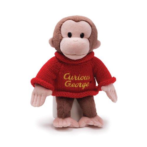 ガンド ぬいぐるみ リアル お世話 かわいい 【送料無料】GUND Curious George Dressed in a Sweater 12