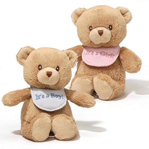 ガンド ぬいぐるみ リアル お世話 かわいい 【送料無料】Gund, Baby Bib Bear Rattles