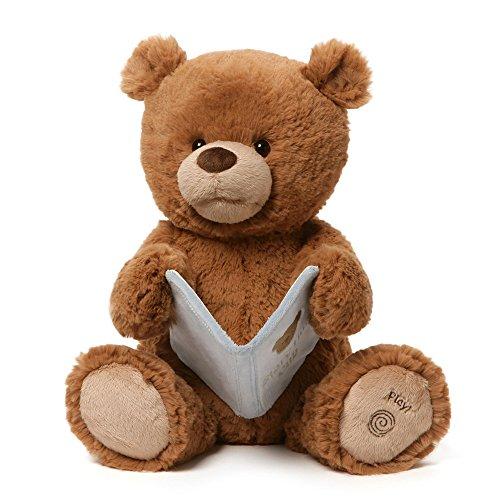 ガンド ぬいぐるみ リアル お世話 かわいい 【送料無料】GUND Storytime Cub Animated Teddy Bear Stuffed Animal Plush, 15