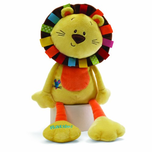ガンド ぬいぐるみ リアル お世話 かわいい 【送料無料】GUND Color Fun Circus-Roarsly Lion 13.5