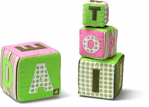 ガンド ぬいぐるみ リアル お世話 かわいい Gund Baby Alphabet Stacking Blocks - ピンク (Discontinued by Manufacturer)ガンド ぬいぐるみ リアル お世話 かわいい