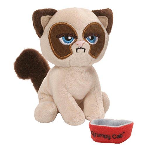 ガンド ぬいぐるみ リアル お世話 かわいい 【送料無料】GUND Grumpy Cat Box O Grump Everyday Stuffed Animal Plush, 4.5