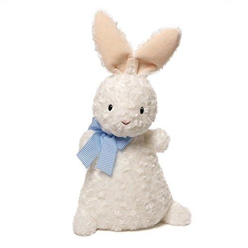 ガンド ぬいぐるみ リアル お世話 かわいい 【送料無料】GUND Chex Bunny Plush, 16