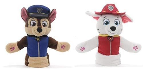 ガンド ぬいぐるみ リアル お世話 かわいい 【送料無料】GUND Paw Patrol Puppet Plush Bundle of 2, 11 inch Chase and Marshallガンド ぬいぐるみ リアル お世話 かわいい
