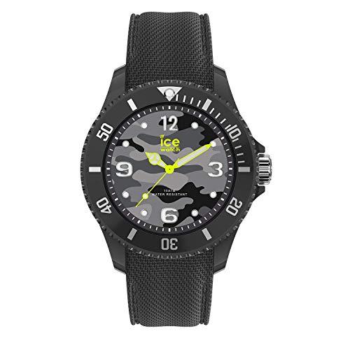 アイスウォッチ 腕時計 メンズ かわいい 夏の腕時計特集 【送料無料】Ice-Watch Ice Bastogne Camo Dial Grey Rubber Strap Mens Watch 016292アイスウォッチ 腕時計 メンズ かわいい 夏の腕時計特集
