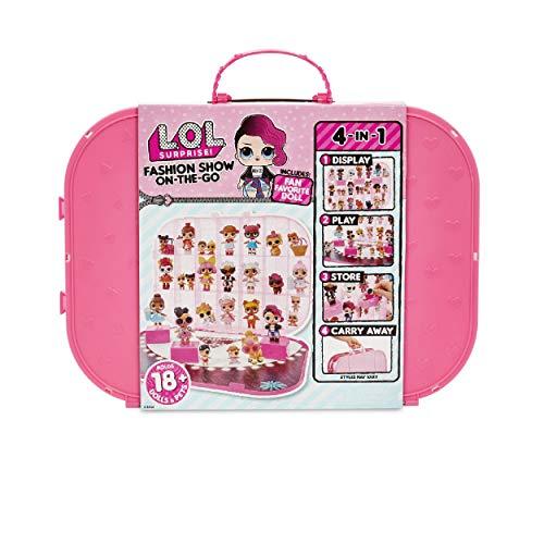Hot 【送料無料】L.O.L. 人形 On-The-Go ? 人形 Show Doll ドール Fashion with Storage/Playset Surprise! エルオーエルサプライズ Pinkエルオーエルサプライズ ドール Included