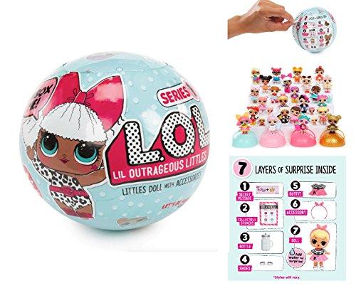 エルオーエルサプライズ 人形 ドール 【送料無料】L.O.L Little Outrageous Littles Surprise! Doll - You Get Seven Layers of Fun with Every L.O.L. Surprise Doll!エルオーエルサプライズ 人形 ドール