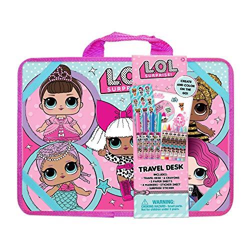 エルオーエルサプライズ 人形 ドール 【送料無料】L.O.L. Surprise! Travel Lap Desk Activity Set, 10-1/8