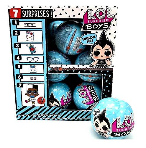 無料ラッピングでプレゼントや贈り物にも。逆輸入並行輸入送料込 エルオーエルサプライズ 人形 ドール 【送料無料】L.O.L. Surprise! Boys Series Dolls Full Box Case of 12エルオーエルサプライズ 人形 ドール