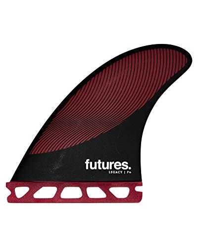 サーフィン フィン マリンスポーツ 【送料無料】Futures P6 Legacy Thruster Fin Set Burgundy/Blackサーフィン フィン マリンスポーツ