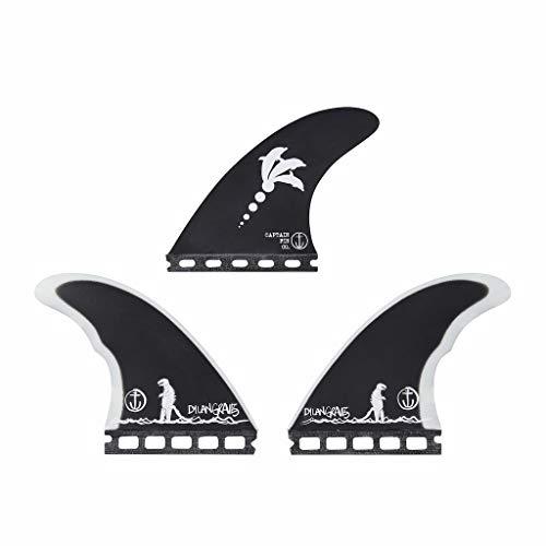 サーフィン フィン マリンスポーツ 【送料無料】Captain Fin Co.   Dylan GRAVEZILLA Surfboard Fins   (Single TAB) Thruster Set   Blackサーフィン フィン マリンスポーツ