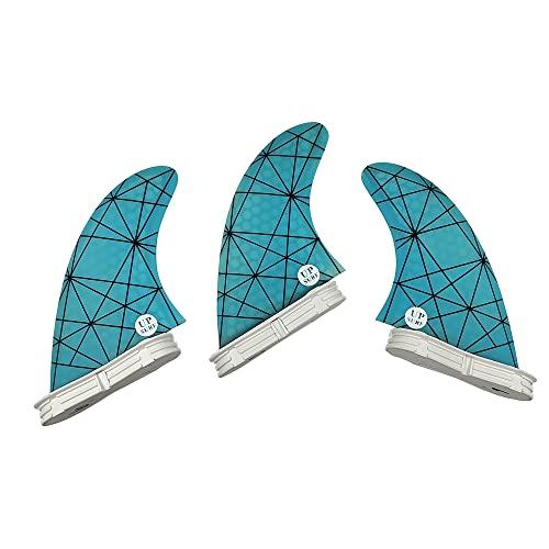 無料ラッピングでプレゼントや贈り物にも 逆輸入並行輸入送料込 サーフィン フィン マリンスポーツ 送料無料 初回限定 UPSURF Surfboard 3fins Blue - G5 年間定番 Choose fins Color Surfing FCS2