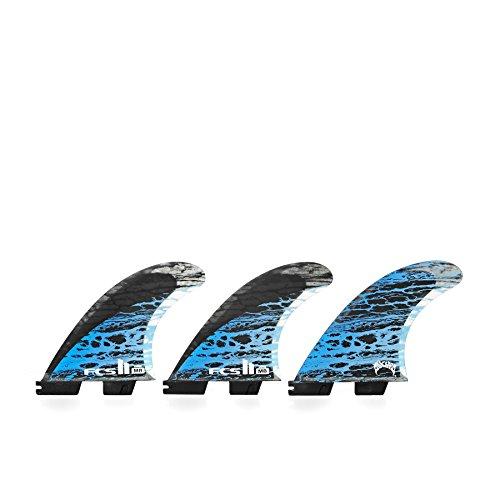 サーフィン フィン マリンスポーツ 【送料無料】FCS II MB PC Carbon Thruster Surfboard Finsサーフィン フィン マリンスポーツ