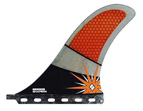 サーフィン フィン マリンスポーツ 【送料無料】Shapers Longboard/SUP Fins Open Ocean Racer 9.0 Carbon Orangeサーフィン フィン マリンスポーツ