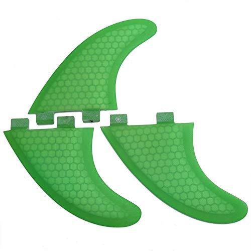 サーフィン フィン マリンスポーツ 【送料無料】Surfboard Fins, Green FCS G7 Surf Fins Surfboard Fiberglass Tri Set Thruster(G7)サーフィン フィン マリンスポーツ