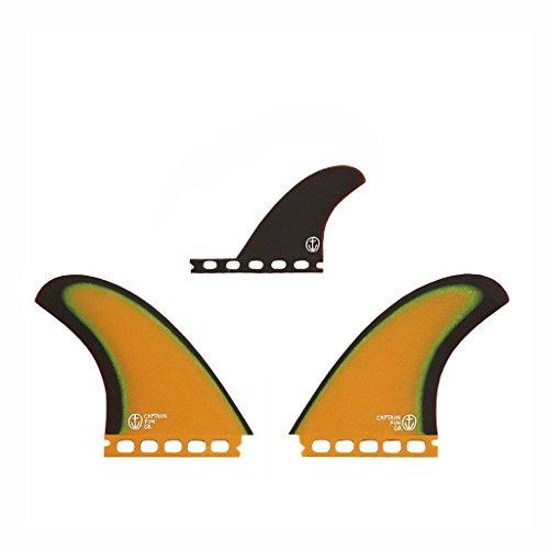 サーフィン フィン マリンスポーツ 【送料無料】Captain Fin Co. CF-Twin Especial Surfboard Fins - 2 Fin Set - Single Tab - Brownサーフィン フィン マリンスポーツ