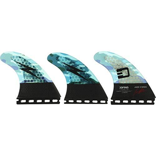 SurfCo Pro Teck 4.50 Super Flex Thruster Set for Future
