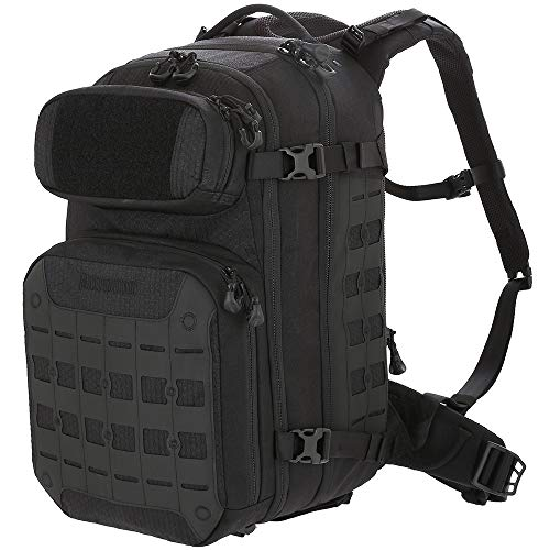ミリタリーバックパック タクティカルバックパック サバイバルゲーム サバゲー アメリカ Maxpedition Gear RBDBLK Riftblade Tactical & Duty Equipment, 黒ミリタリーバックパック タクティカルバックパック サバイバルゲーム サバゲー アメリカ