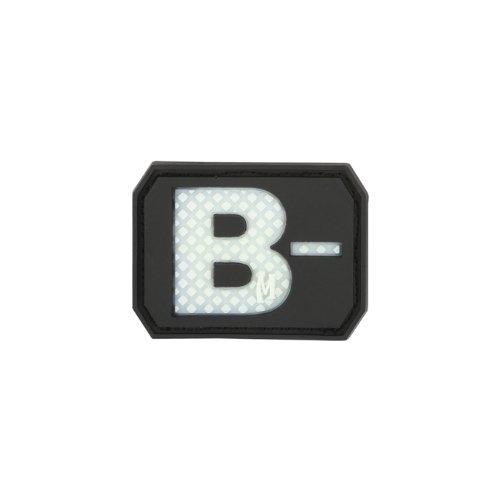 ミリタリーバックパック タクティカルバックパック サバイバルゲーム サバゲー アメリカ Maxpedition Gear B Negative Blood Type Patch, Glow, 1.5 x 1.1-Inchミリタリーバックパック タクティカルバックパック サバイバルゲーム サバゲー アメリカ