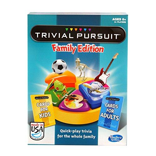 衝撃特価 ボードゲーム 英語 アメリカ Games 海外ゲーム【送料無料】Hasbro Games Exclusive)ボードゲーム 英語 Trivial Pursuit Family Edition (Amazon Exclusive)ボードゲーム 英語 アメリカ 海外ゲーム, キノサキチョウ:bed93e23 --- zhungdratshang.org