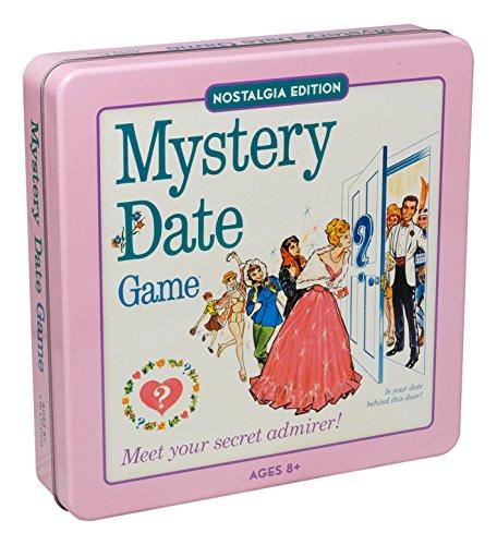 ボードゲーム 英語 アメリカ 海外ゲーム 【送料無料】Mystery Date Classic Board Game With Nostalgic Tin Caseボードゲーム 英語 アメリカ 海外ゲーム