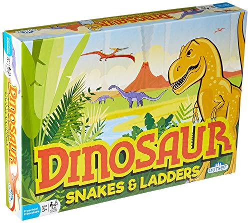 ボードゲーム 英語 アメリカ 海外ゲーム 【送料無料】Dinosaur Snakes & Ladders Game - Amazon Exclusiveボードゲーム 英語 アメリカ 海外ゲーム