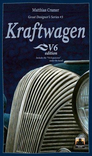 ボードゲーム 英語 アメリカ 海外ゲーム 【送料無料】Kraftwagen The V6 Edition Board Gameボードゲーム 英語 アメリカ 海外ゲーム