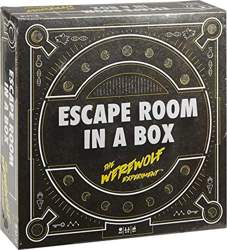ボードゲーム 英語 アメリカ 海外ゲーム Escape Room in a Box: The Werewolf Experiment, Board Game for Adults and Kids 13+ボードゲーム 英語 アメリカ 海外ゲーム
