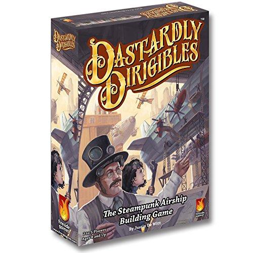 ボードゲーム 英語 アメリカ 海外ゲーム Fireside Games Dastardly Dirigibles Board Game - Board Games for Families - Board Games for Adultsボードゲーム 英語 アメリカ 海外ゲーム