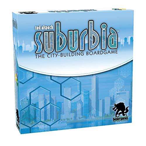 ボードゲーム 英語 アメリカ 海外ゲーム 【送料無料】Suburbiaボードゲーム 英語 アメリカ 海外ゲーム