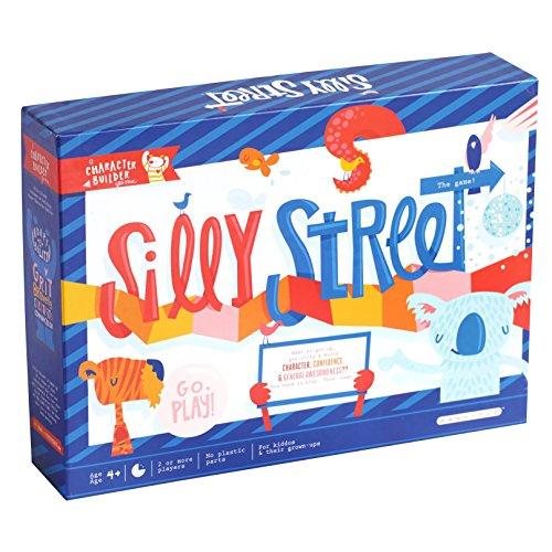 ボードゲーム 英語 アメリカ 海外ゲーム 【送料無料】Buffalo Games Silly Street - The Award Winning Game That Gets You Up & Moving & Creative & Just Plain Sillyボードゲーム 英語 アメリカ 海外ゲーム