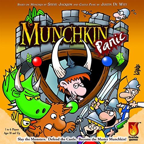 ボードゲーム 英語 アメリカ 海外ゲーム 【送料無料】Fireside Games Munchkin Panic - Board Games for Families - Board Games for Kids 7 and upボードゲーム 英語 アメリカ 海外ゲーム