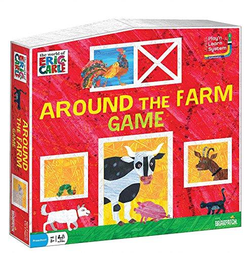ボードゲーム 英語 アメリカ 海外ゲーム The World of Eric Carle Around the Farm Gameボードゲーム 英語 アメリカ 海外ゲーム