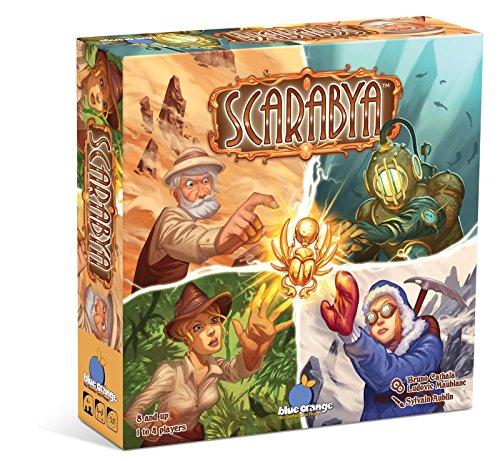 大人気新品 ボードゲーム 英語 英語 アメリカ 英語 海外ゲーム【送料無料】BLUE ORANGE Games ボードゲーム Scarabya Strategy Board Gameボードゲーム 英語 アメリカ 海外ゲーム, CouPole:0fd33d9f --- zhungdratshang.org