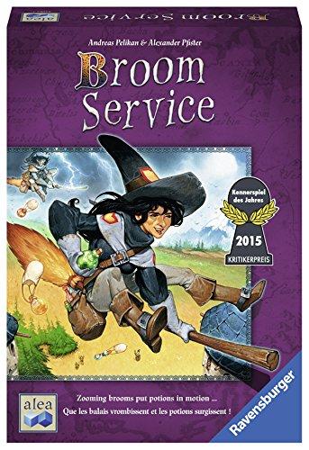 ボードゲーム 英語 アメリカ 海外ゲーム 【送料無料】Ravensburger Broom Service for Ages 10 & Up - Intense Strategy Game of Skill, Lucky, & Bluffing, 81083ボードゲーム 英語 アメリカ 海外ゲーム