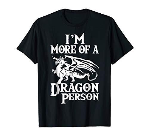 ボードゲーム 英語 アメリカ 海外ゲーム More of a Dragon Person T-Shirt. Role Play RPG Board Gameボードゲーム 英語 アメリカ 海外ゲーム