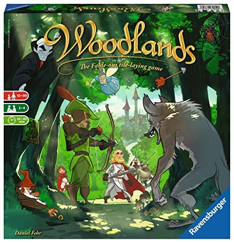 ボードゲーム 英語 アメリカ 海外ゲーム 【送料無料】Ravensburger Woodlands for Ages 10 & Up - Story-Driven Family Board Game of Fairytales & Strategyボードゲーム 英語 アメリカ 海外ゲーム