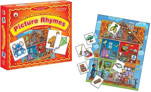 ボードゲーム 英語 アメリカ 海外ゲーム I Spy a Mouse in the House! Picture Rhymes Educational Board Gameボードゲーム 英語 アメリカ 海外ゲーム
