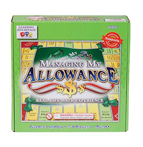 ボードゲーム 英語 アメリカ 海外ゲーム Learning Advantage Managing My Allowance - Allowance Game for Kids - Teach Money, Making Change, Currency and Saving Skillsボードゲーム 英語 アメリカ 海外ゲーム