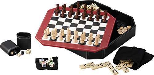 ボードゲーム 英語 アメリカ 海外ゲーム 【送料無料】Mainstreet Classics Octagon 5-in-1 Combo Board Game Setボードゲーム 英語 アメリカ 海外ゲーム