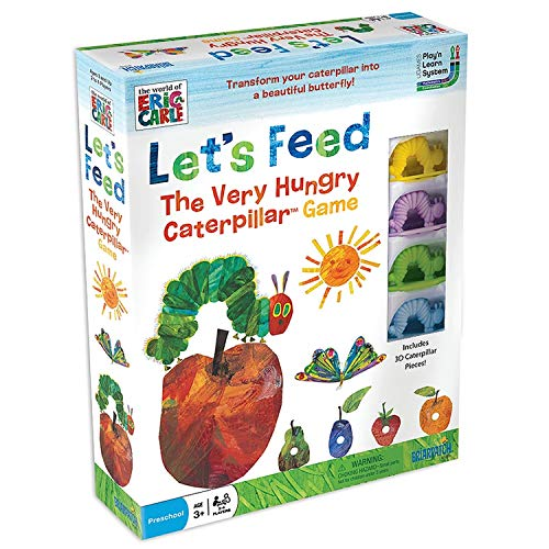 ボードゲーム 英語 アメリカ 海外ゲーム The World of Eric Carle Let's Feed The Very Hungry Caterpillar Counting Cards Kids Game, Fun For Preschool Children Ages 3 & Upボードゲーム 英語 アメリカ 海外ゲーム