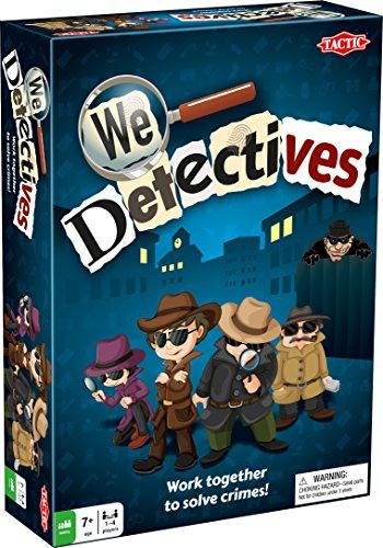 ボードゲーム 英語 アメリカ 海外ゲーム Tactic 53394 - We Detectives Board Game - Family Fun - 2 or More Playersボードゲーム 英語 アメリカ 海外ゲーム