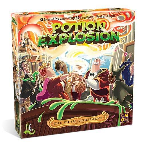 ボードゲーム 英語 アメリカ 海外ゲーム 【送料無料】Potion Explosion: The Fifth Ingredientボードゲーム 英語 アメリカ 海外ゲーム