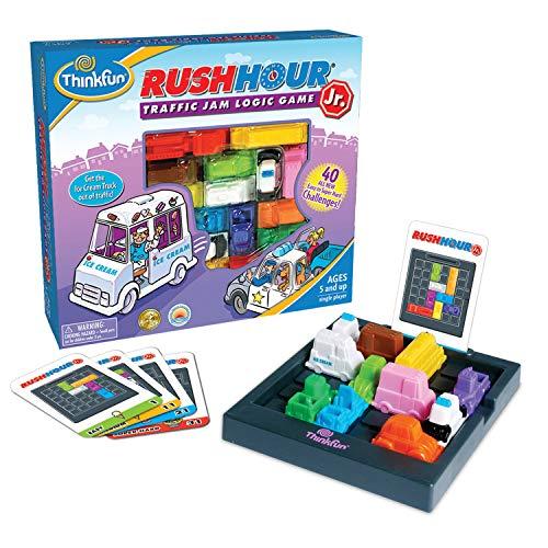 ボードゲーム 英語 アメリカ 海外ゲーム ThinkFun Rush Hour Junior Traffic Jam Logic Game and STEM Toy for Boys and Girls Age 5 and Up - Junior Version of the International Bestseller Rush Hourボードゲーム 英語 アメリカ 海外ゲーム