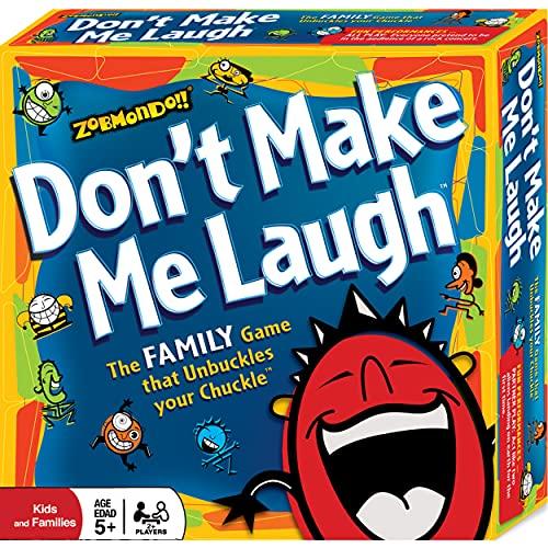 ボードゲーム 英語 アメリカ 海外ゲーム Don't Make Me Laugh! The Silly Reinvented Charades Party Game | Hilarious for Families and Kids | Multi-Award Winnerボードゲーム 英語 アメリカ 海外ゲーム