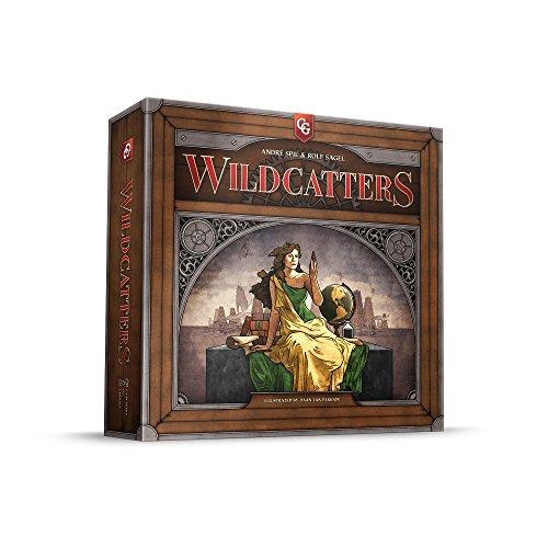 ボードゲーム 英語 アメリカ 海外ゲーム 【送料無料】Capstone Games Wildcatters Gameボードゲーム 英語 アメリカ 海外ゲーム