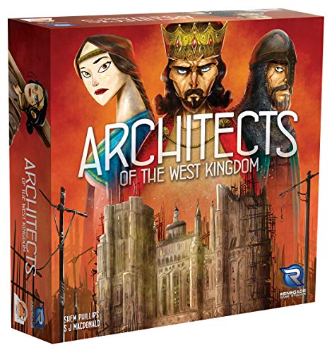 割引発見 ボードゲーム 英語 アメリカ 海外ゲーム 【送料無料】Renegade Game Studios Architects of the West Kingdom Game for 1-5 Players Aged 12 & Upボードゲーム 英語 アメリカ 海外ゲーム, シオガマシ 6c6bd4de
